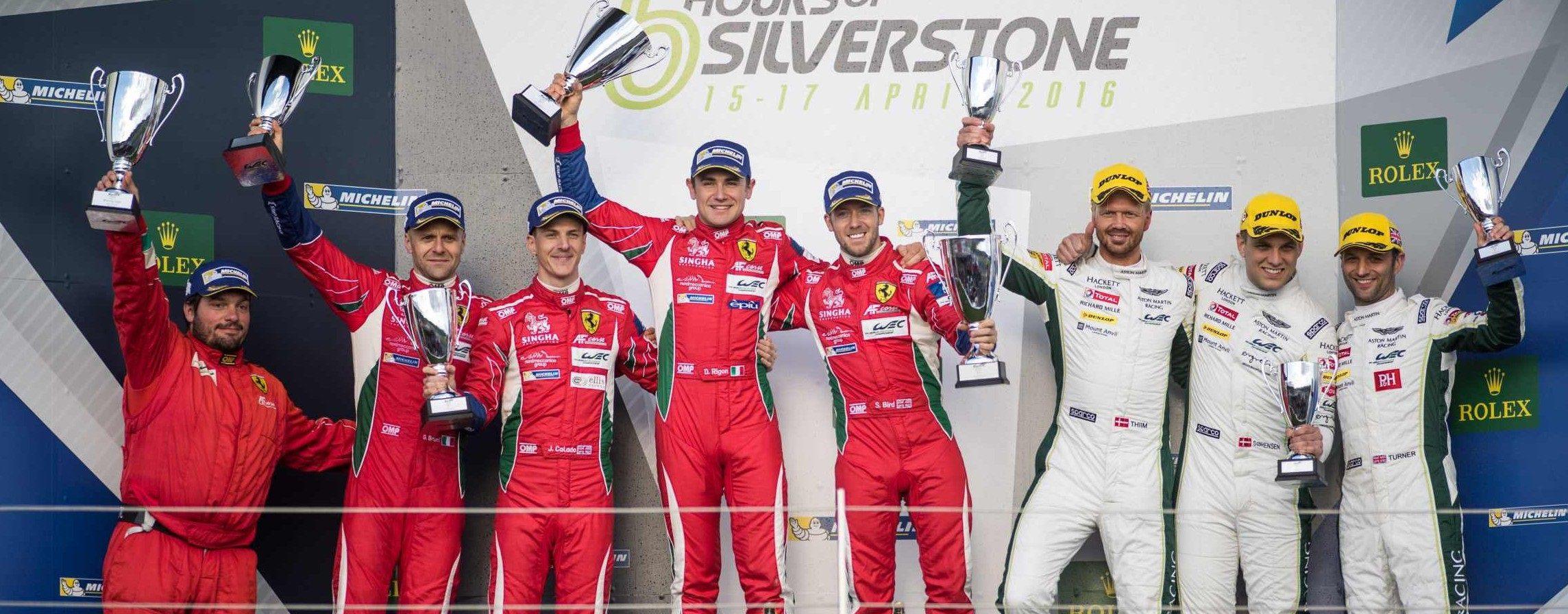 Aston MArtin third place silverstone