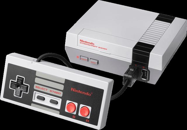 der Nintendo-Konsole