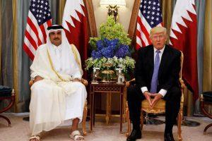 Trump in Qatar