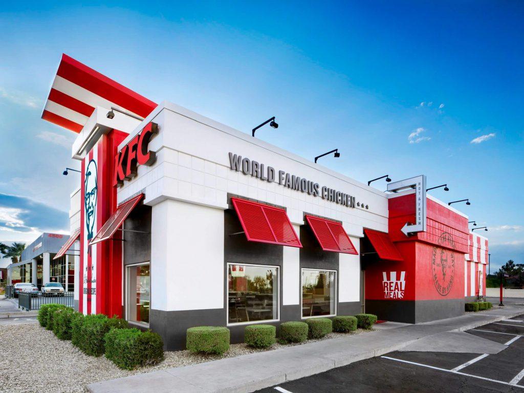 Redesigned KFC exterior. Source: Business Insider