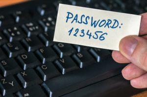 password lost