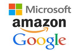 Alphabet, Amazon e Microsoft