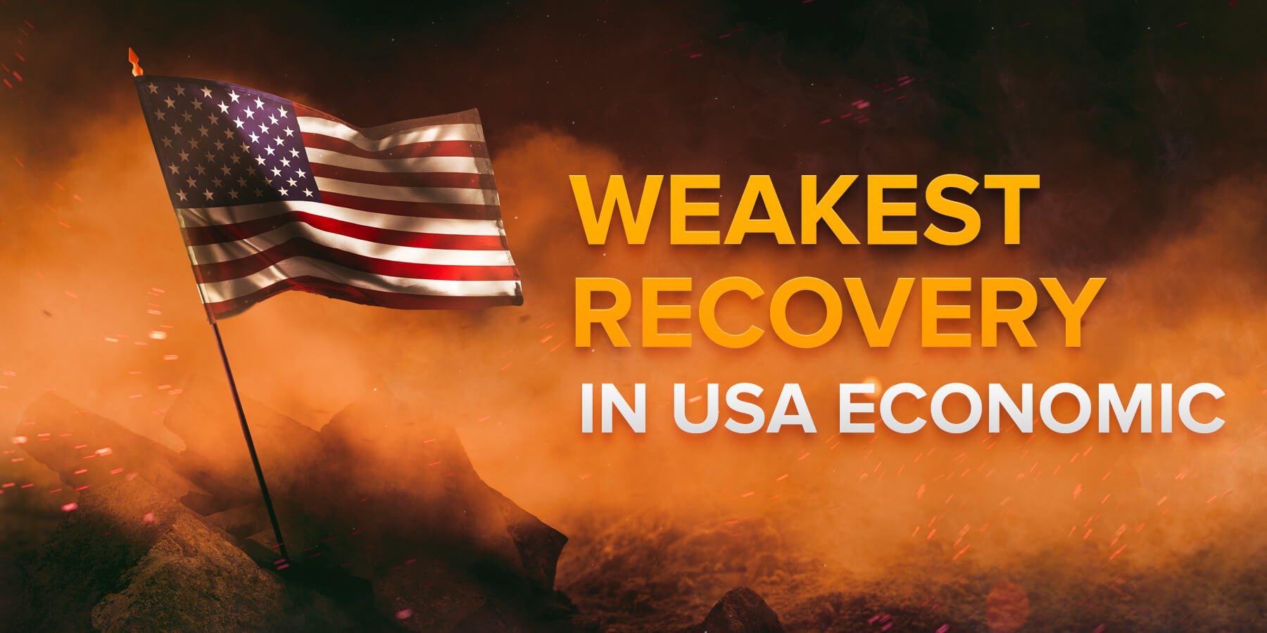 Một trong những sự phục hồi yếu nhất trong lịch sử kinh tế Mỹ: Những lý do