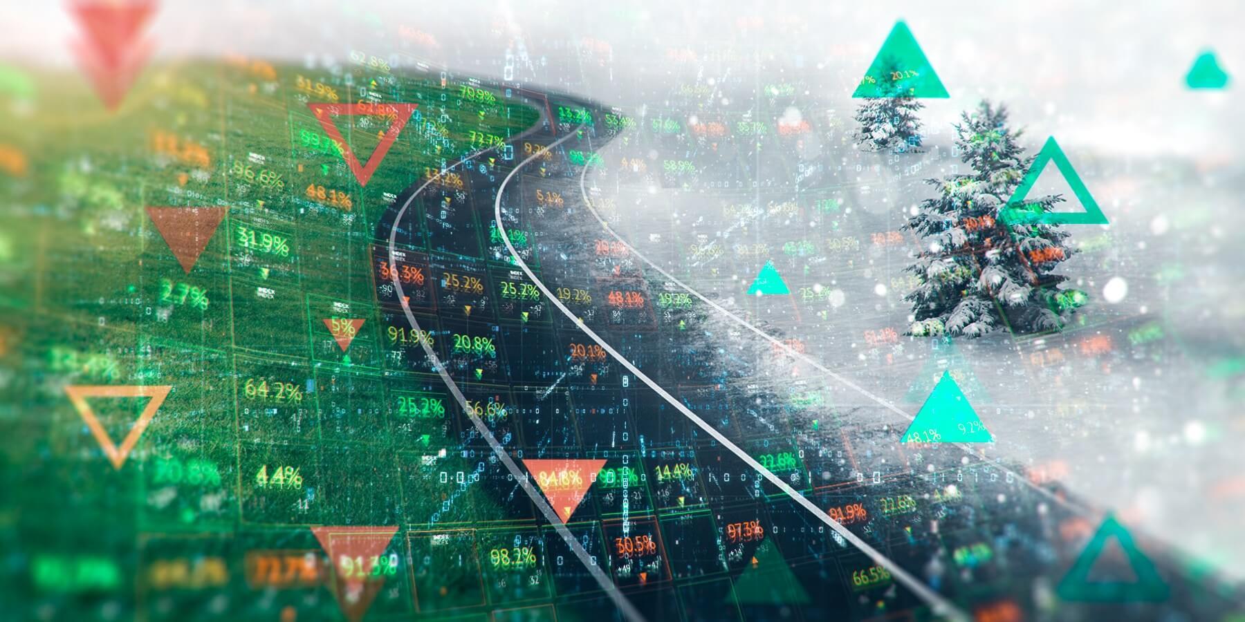 Seasonal trends in the stock markets
